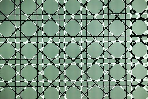 Pattern, Graphics, Figure, Line, Glass