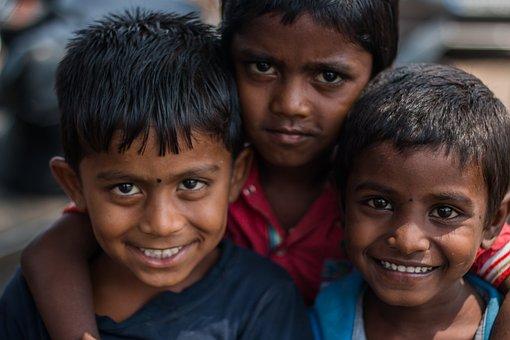 Kids, Children, Face, Smile, Childhood