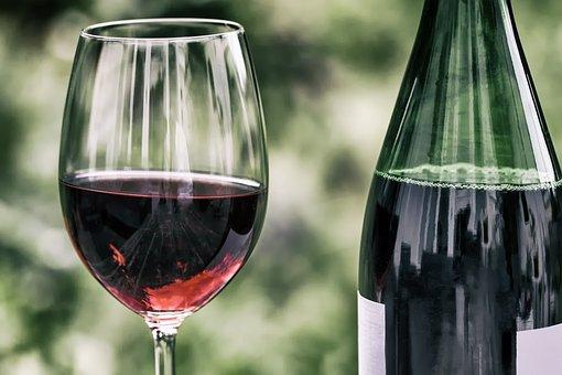 Vin, Rétro, Verre À Vin