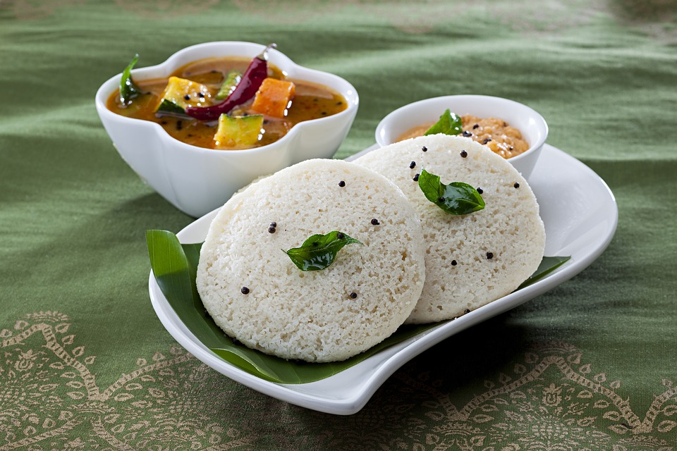 Breakfast, Idli, Indian-Foods