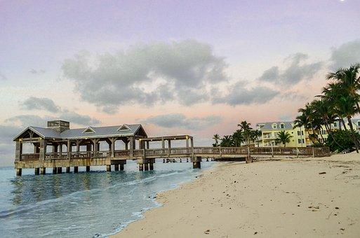 Key West, Pier, Florida, Key, West