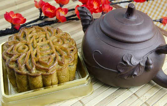 Mooncake, Mooncakes, Lotus Filling