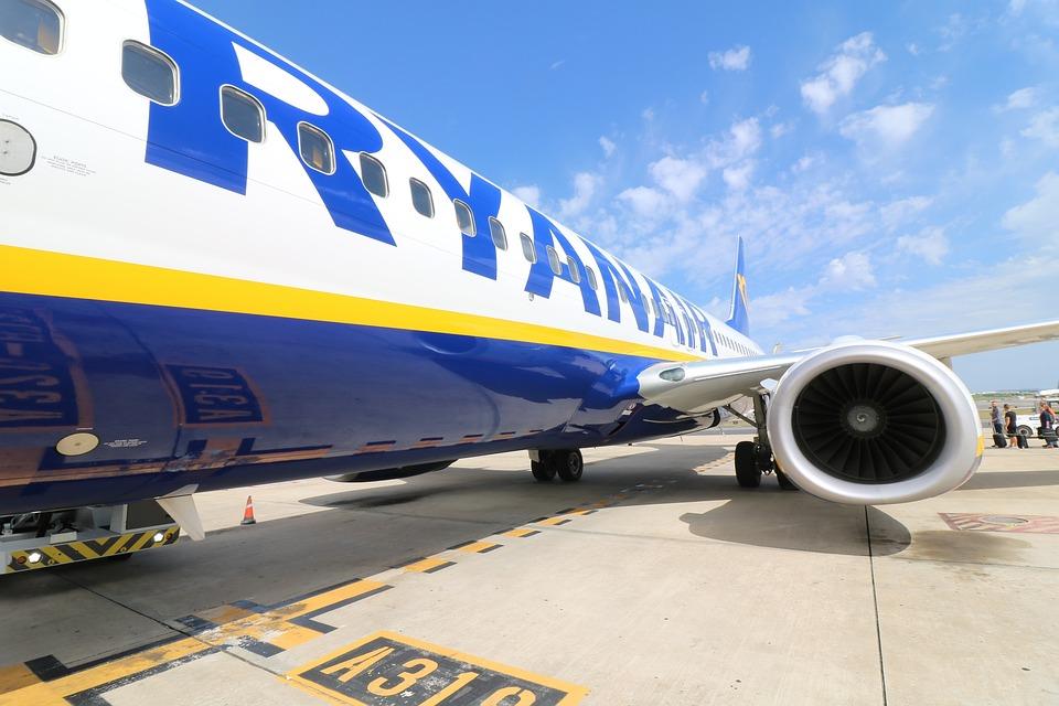 Aeronaves, Ryanair, Aeropuerto, Salida, Aviación, Jet