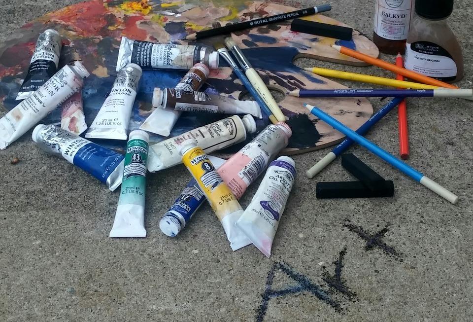 Art, Peinture À L'Huile, Bâtons De Fusain, peur de l'échec