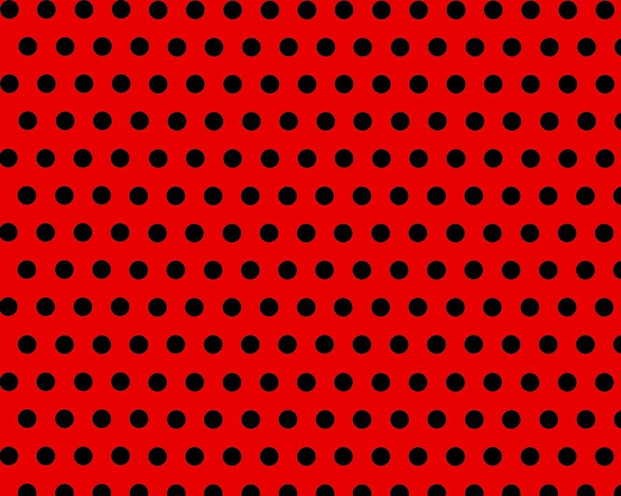 Sfondo Rosso Pois Bianchi Immagini Gratis Su Pixabay