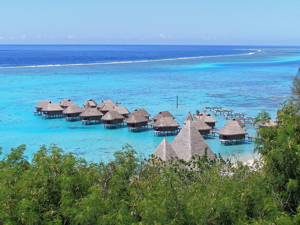 Moorea, Francés, Polinesia, Sociedad, Isla, Tropicales