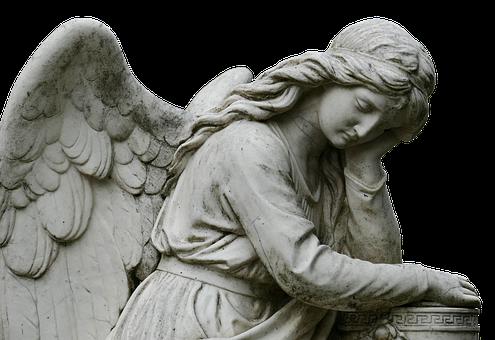 Engel, Friedhof, Skulptur