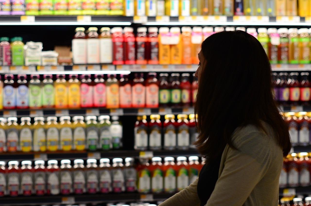Shopping Bottle Woman - Free photo on Pixabay