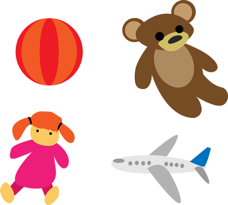 Toys Kids Playing Free Vector Graphic On Pixabay