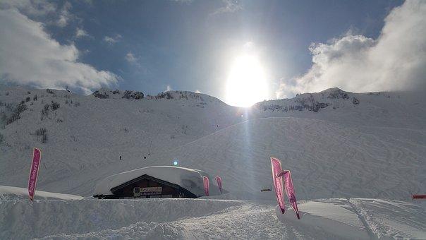 Chatel, Skifahren, Schnee, Piste, Alpine, Winter