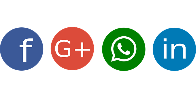 Social, Facebook, Google Plus, Whatsapp
