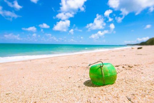 餌, ボール, アンダマン海, 背景, ベイ, ベイビュー, ビーチ, 美しい
