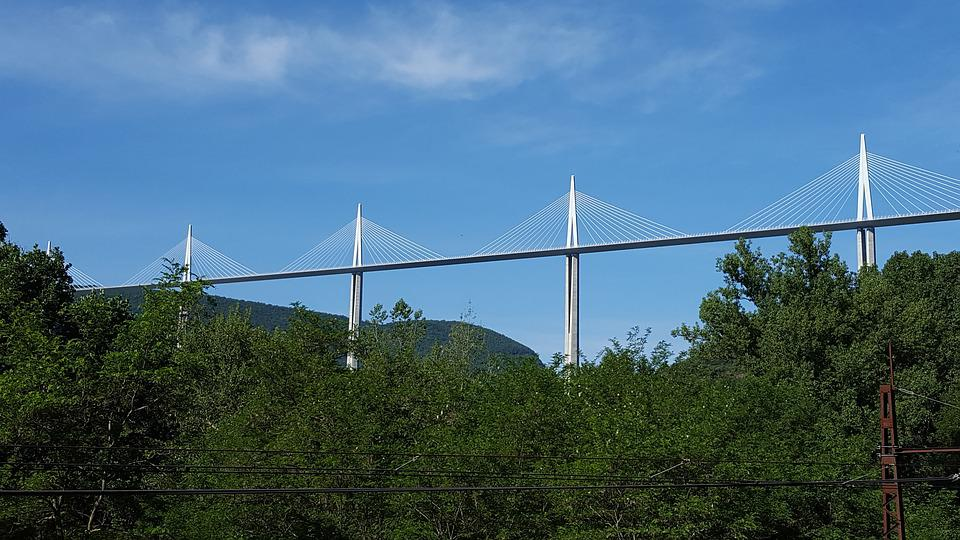 Viaduct, Millau, Bridge, France, Brought