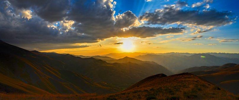 Horizont, Solar, Sonnenuntergang