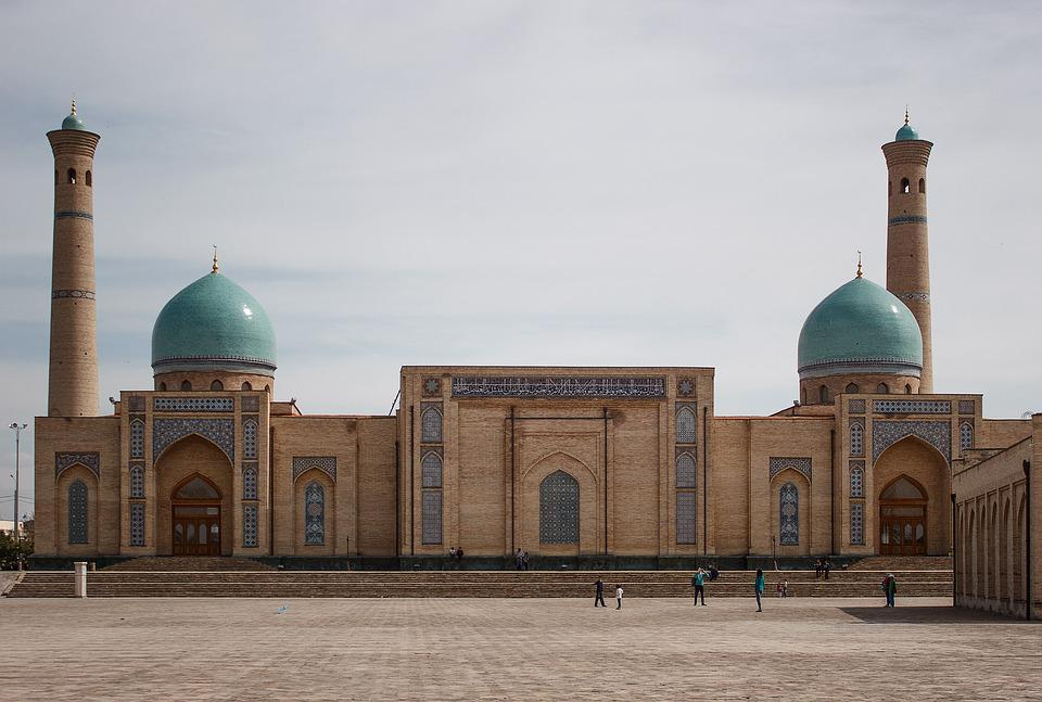 Taszkent, Uzbekistan, Meczet, Wschód, Ciepła