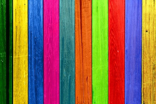 Wood, Boards, Colorful, Grain