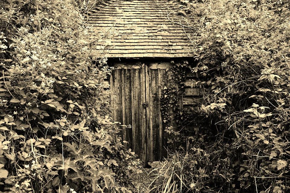 Tajemniczy Ogród Ukryte Stodoła Darmowe Zdjęcie Na Pixabay