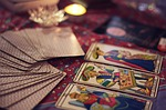 tarot, cards, fortune