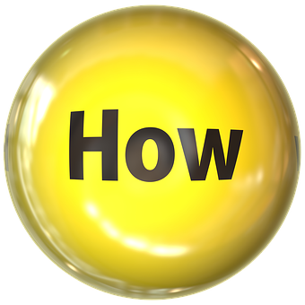 How written in black on a yellow sphere to signify how you get paid in affiliate marketing