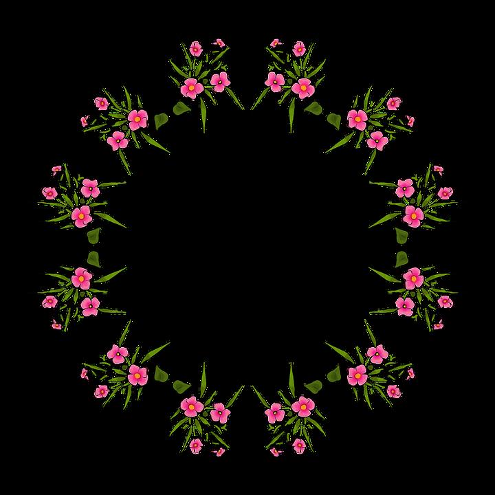 Mandala Rahmen Kranz Blume · Kostenloses Bild auf Pixabay