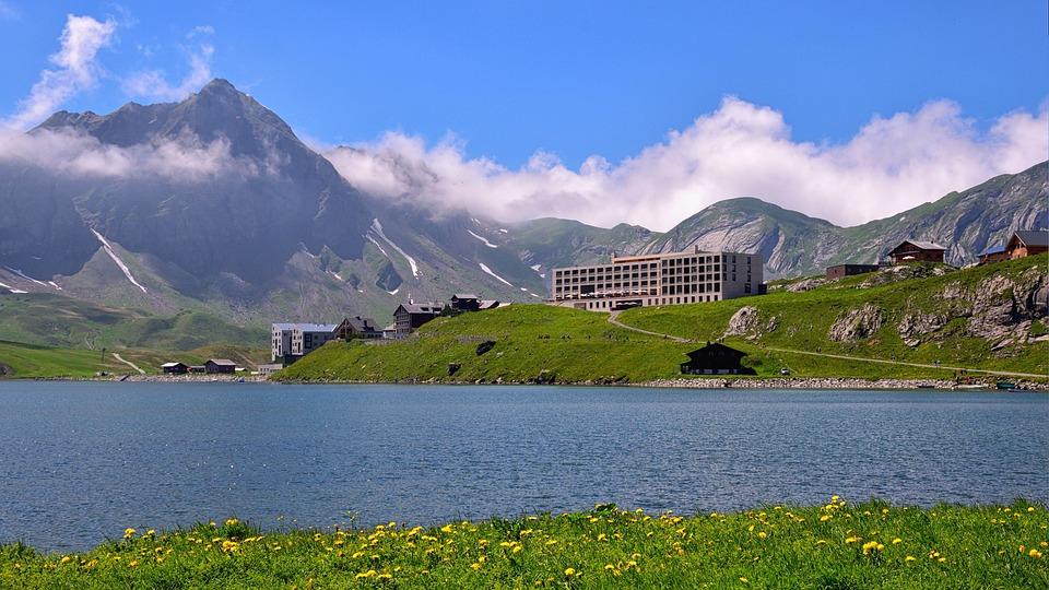 Melchsee-Frutt, Bergsee, Bergpanorama, Natur, Berge