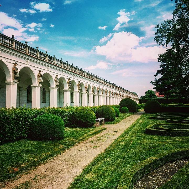 Colonade, Sky, Architecture, Travel, Tourism