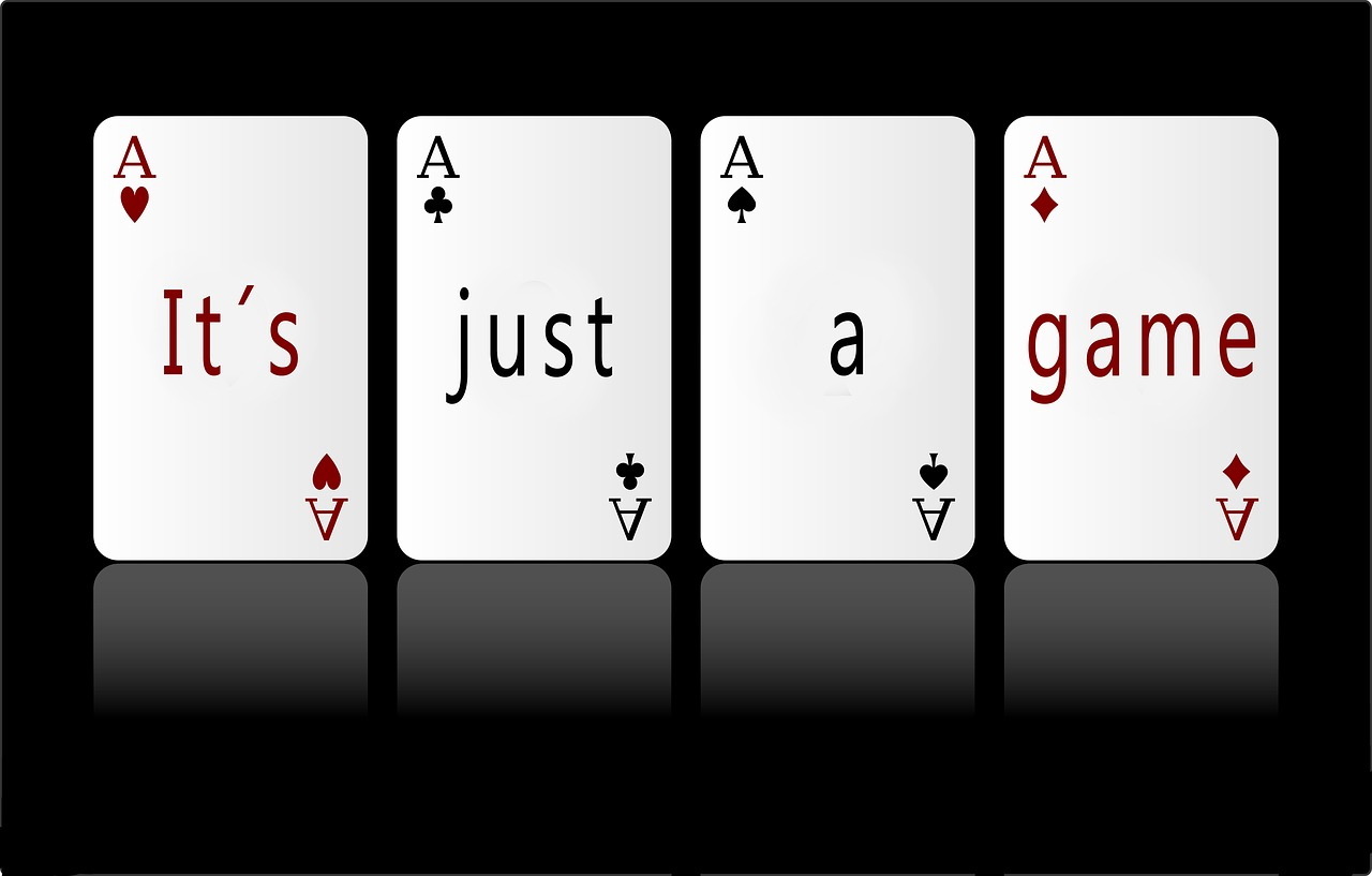four aces with it's just a game