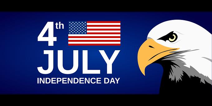 United States, America, Eagle, Flag