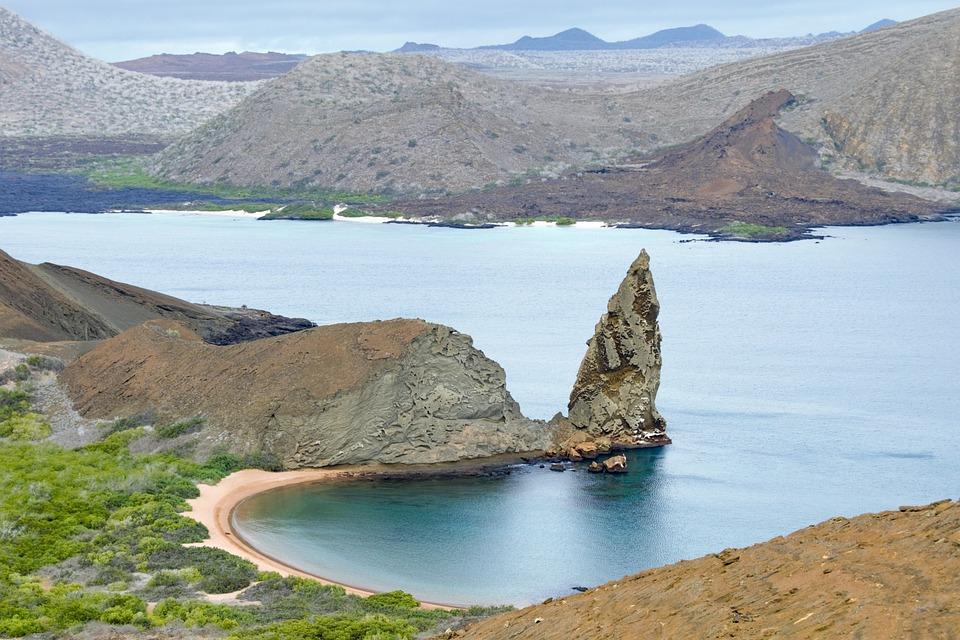 Galapagos Islands, Galapagos, Volcanic, Landscape