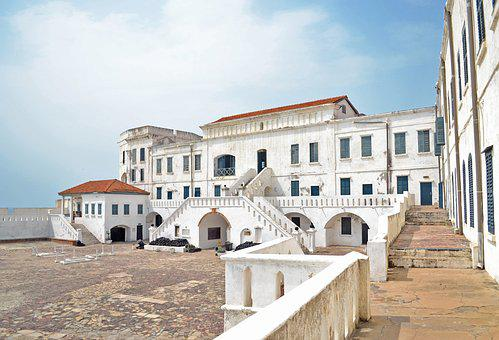 Castle, Cape Coast, Ghana, Architecture
