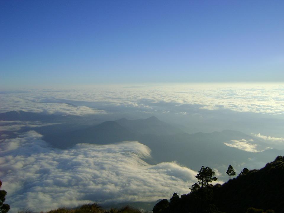 Tapety, Gwatemala, Volcan Wody