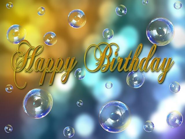Birthday Happy · Free Image On Pixabay