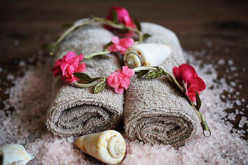 Spa, Mussels, Flowers, Relax, Beauty