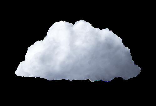 Cloud, Isolated, Cumulus, Transparent