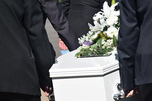 死, 葬儀, 棺, 喪に服して, 式, 損失, 埋葬, 悲しみ, 記念碑