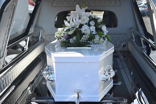 棺の中のご遺体