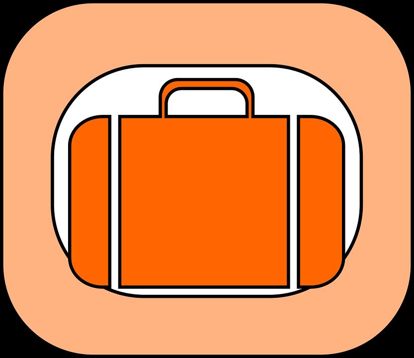 \uac00\ubc29 \uc9d0 \uc218\ud558\ubb3c \uc11c\ub958 \u00b7 Free vector graphic on Pixabay