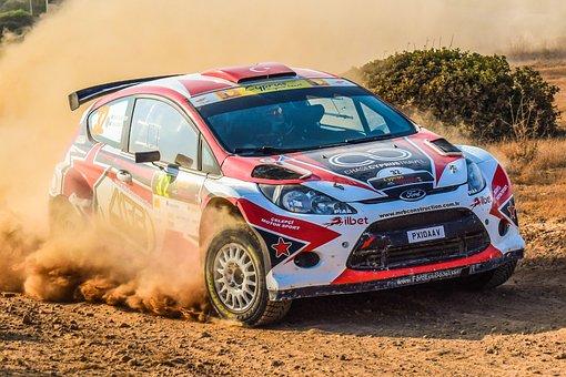 Rallye, Rennen, Auto, Geschwindigkeit