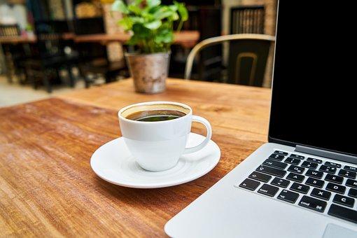 コーヒー, カフェイン, 飲料, 栄養, テーブル, キッチン, ブラウン