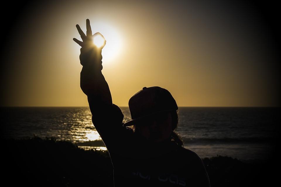 Sunset, Sea, Cottesloe, Ok, Feeling, Good, Child, Girl