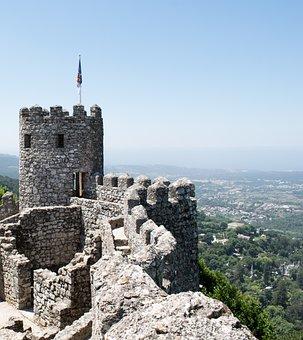 Portugal, Sintra, Castelo, Velho, Viagem