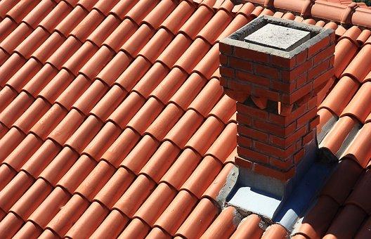 Croatia, Dubrovnik, Roof, Tiles, Chimney