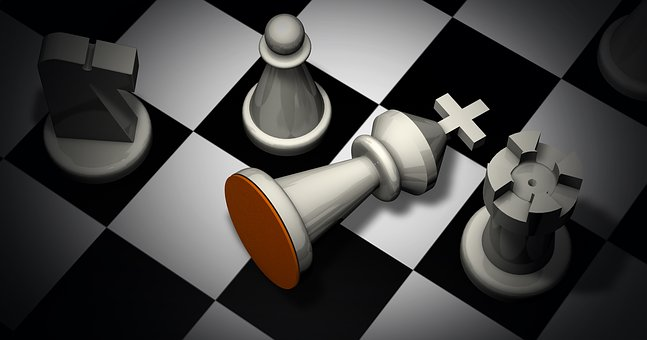 Schachmatt, Schach, Figuren
