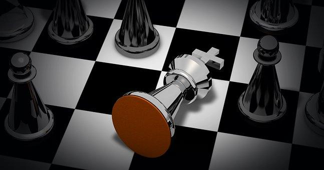 Schachspiel, Schachmatt, Schach, Figuren