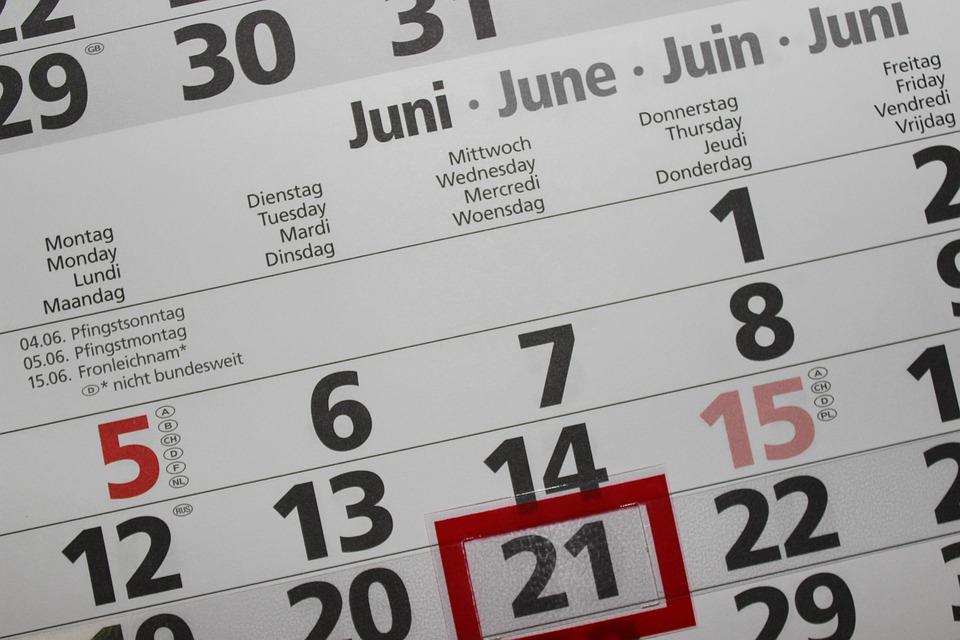 カレンダー, お支払い, 番号, 年, 日付, 6 月, 週, 計画, 数, 時間, 毎月