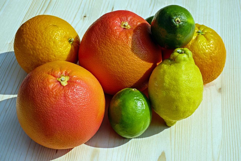 Frutta, Alimentari, Frutti Tropicali, Agrumi, Arance