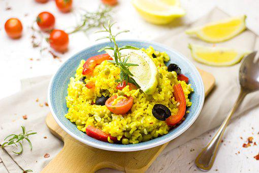 Paella, Friture Jusqu'À, Pan, Safran