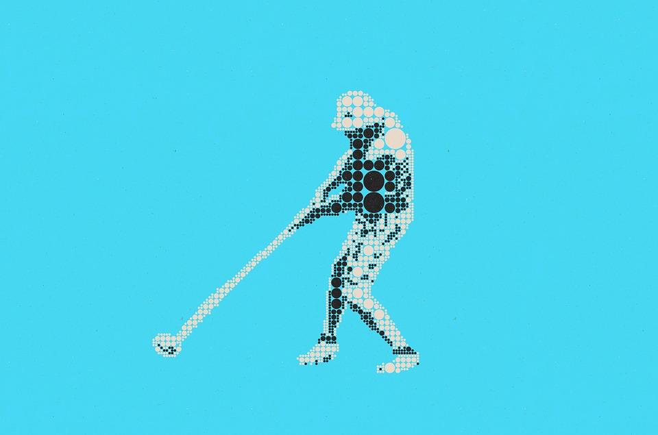 ピクトグラム, シンボル, グラフィック, グリッド, ポイント, スポーツ, ゴルフ, ゴルファー