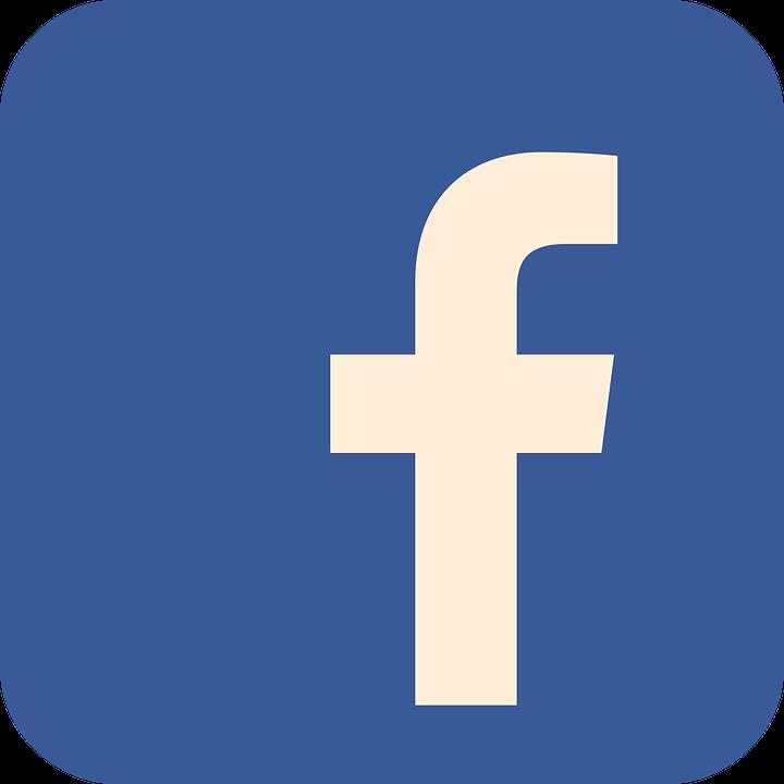 Facebook, Płaski, Płaskie Ikona, Społecznego, Ikona
