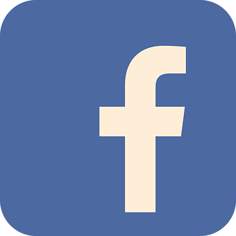 Facebook, Flat, Platte Pictogram